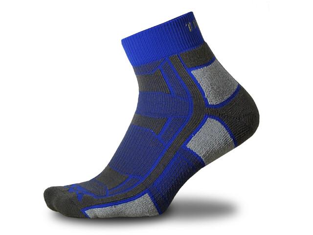 Thorlos Outdoor Athlete Quarter Length Socks, royal thunder
